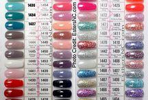 Shellac colors