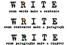 Reading and writing! Love it!