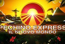 Pechino Express....mlmlml❤ / Semplicemente il mio programma preferito.... #PechinoExpress #Espatriati ❤