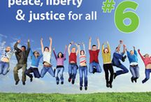 6th Principle - Peace, Liberty & Justice For All