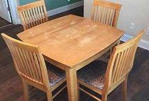 Restored furniture