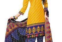 Printed Cotton Suits - dish1001 / Latest Cotton Salwar Suit in Printed Pattern