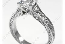 Solitaire Engagement Rings / Stunning and Classic designer Solitaire Rings by Quorri made in Solid Gold and Platinum.