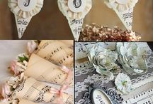 music themed wedding ideas / by Jill Johnson