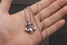 Rings, bracelets and pendants