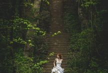 Wedding // Bridal Shoot / These brides shine! May their style and happiness inspire future brides to be.