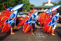 Fourth of July Float DIY / Craft DIY Float for Fourth of July Parade in Duck NC Outer Banks