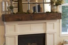 Up styling the fireplace!