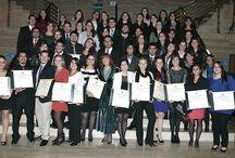 Titulaciones / Con orgullo dedicamos este espacio a todos nuestros nuevos profesionales de Santiago y Temuco