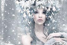 Sneeuwkoningin & prinses