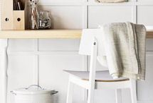 Home • Work Spaces / Inspiration for small, but functional modern working spaces.