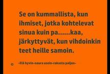 mietteitä also in finnish