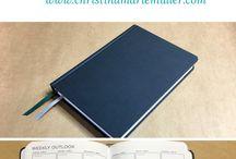 Bound Notebook Planner