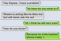 Message jokes