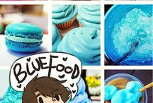 Demigods and blue food