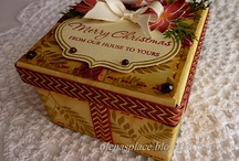 Christmas Cards and other Holiday paper projects / Handmade for Christmas