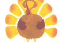 Autumn Holiday Stencils / Stencils for decorating and crafting during the Autumn holiday months
