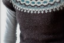 Lopi yoke Icelandic-style knits