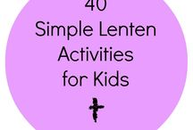 Loving Lent / Ideas, activities and inspiration for Lent 2016. Find ways to celebrate and educate your family during these special 40 days.