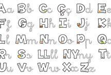 abecedari en Català