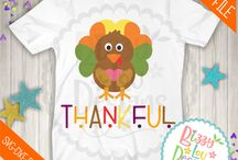 Thanksgiving svg and clip art