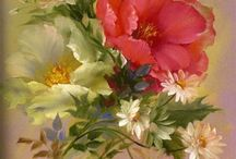 Flower paint