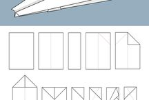 papírové letadla