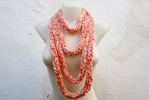 infinity  Finger chain  scarf