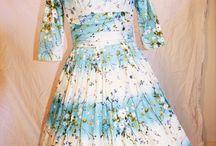Vintage Dresses 1940's 1950's 1960's / Vintage dresses