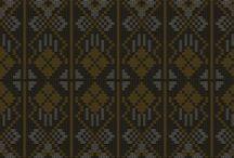 Desain Tekstil / Fabric, design, concept, pattern