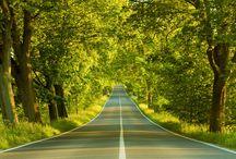 Sunday Drive, Roads, and Rails