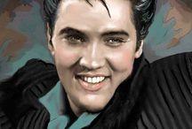 Elvis Presley paintings