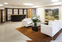 Proyecto Bs Madrid / Espacio Aretha ha colaborado con UNEN en el equipamiento de las salas de clientes de la nueva sede de un banco privado suizo en Madrid.