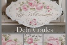 Debi Coules Design Packets and DVD