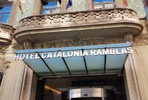 my visit to Barcelona
