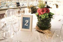 meseros / meseros, números de mesa para banquetes