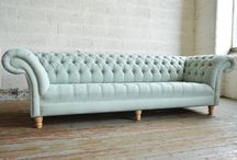 Bespoke Chesterfield Sofas & Chairs / A portfolio of all our handmade bespoke Chesterfield Sofa and Chairs that we have created for our customers. Includes bespoke furniture for residential property and bespoke commercial contract furniture for the likes of hotels, restaurants, bars, and leisure. We offer a bespoke service on any of our products and even ideas that our customers may have. - http://www.abodesofas.com/bespoke-products/
