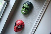 Superhero themed room