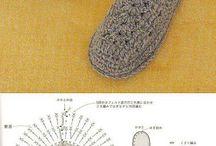Вязание крючком траки