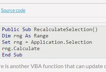 vba codes / VBA macro help to automate your work in spreadsheet programs like excel