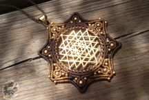 Macrame and Brass