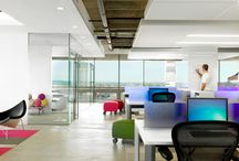 Office Space Design Solutions / Falcon has plenty of design ideas for office spaces, including everything from innovative furniture to power integrated tables to supportive chairs.