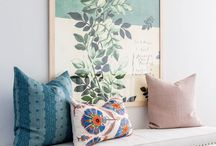home decor / feels bright all the time. get closer to the nature. use colors