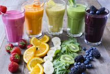 Thermomix Drinks / We all need a drink once in a while. These colourful drinks are just too good!