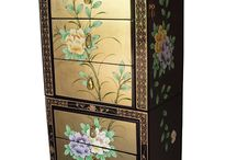 Chinese Jewellery Boxes by Asia Dragon / Ornate Mother of Pearl Designs with Gold Leaf