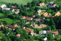 Letecké snímky Kladrub / Letecké snímky obce Kladruby v Železných horách