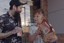 ARTE- Burger King / Assistente de Arte em ação publicitária especial dia do idoso. Três locações.