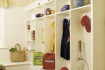 mudroom ideas / by Michelle Tomlen