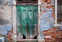 Old doors and Mirrors