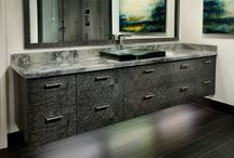 Completed Bathroom Projects / Custom projects built by us